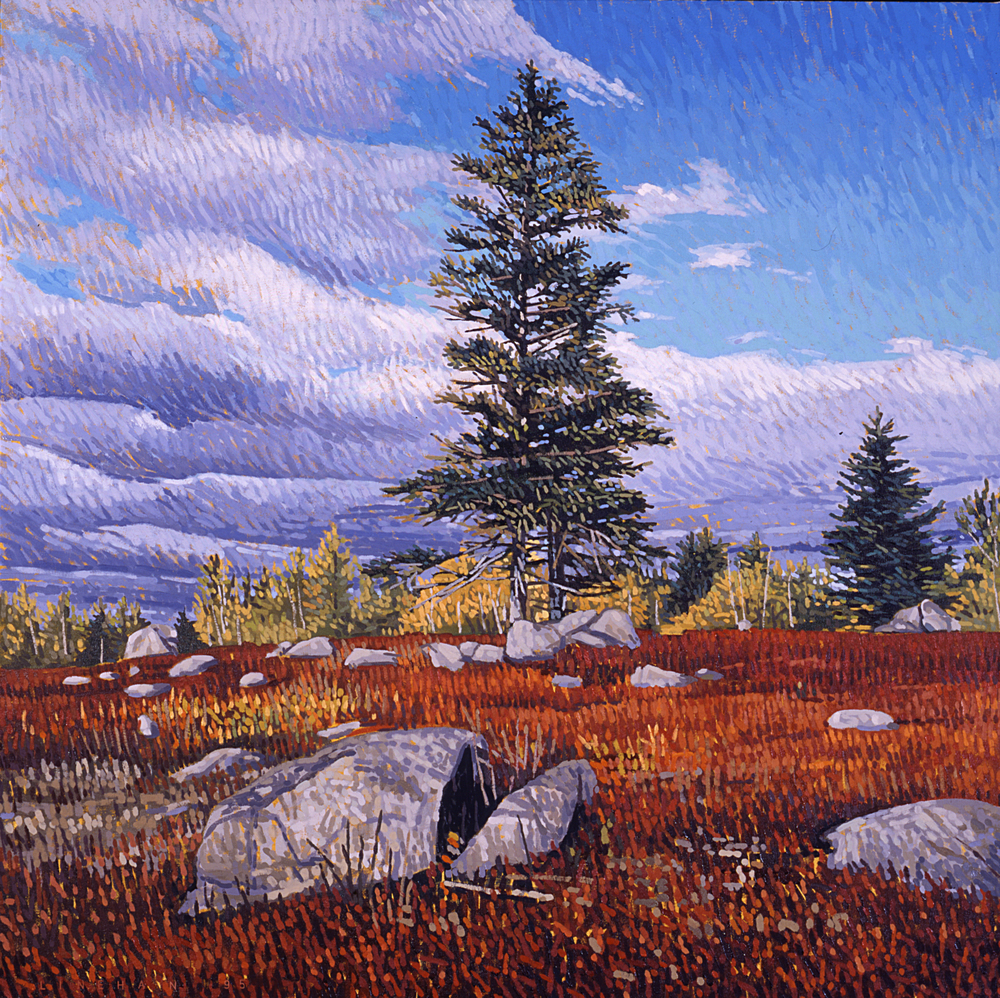 Blueberry Ridge, Fall