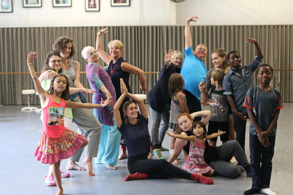 - September 7th 3:30pm Scales Fine Arts Center at Wake Forest University- D101 dance studio behind the main buildingIntergenerational Dance Class- all are welcome!Come dance with us in a community of movers of all ages!