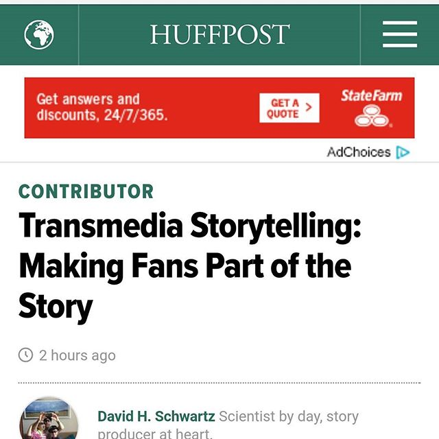 Check out the article in Huffington Post about Transmedia storytelling that features Secret Identity Show! http://m.huffpost.com/us/entry/us_583368bae4b08c963e3443a6?timestamp=1479765550745  #SecretIdentityShow #SickAndSad  #behindthescenes #SIS #secretidentityshow #redcamera #director #tvshow #comedy #webseries #transmedia  #filmmaking #film #indiefilm #redepic #5kresolution #producer
