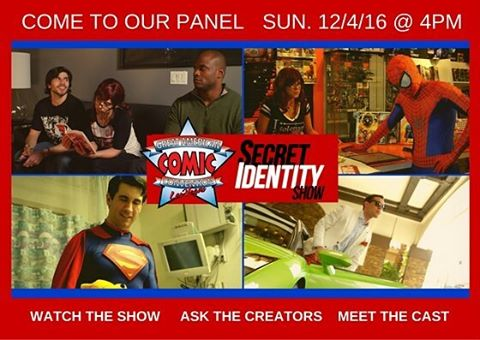 Come visit our booth and panel at Great American Comic Con: Las Vegas today at Cashman Center! Come meet the team and play Cards Against Humanity with the cast! Show goes from 10am - 5pm.  Panel starts at 4pm #secretidentityshow #gacclv2016 #panel #comiccon #Vegas #webseries #filmmaking #behindthescenes #tvshow #comedy