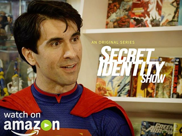 Happy to announce Secret Identity Show is now available to stream for free on Amazon for Prime members!  Link in the description #amazonprime #tvshow #comedy #secretidentityshow #superman