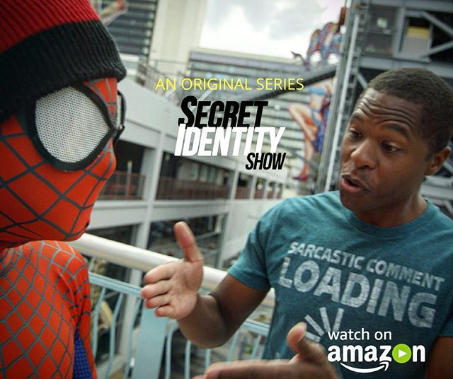 Now available for streaming on Amazon Video, free for Prime members! Link in bio :) #amazon #amazonprime #amazonvideo #tvshow #comedy #webseries #mockumentary #superhero #spiderman #nerdy #fam