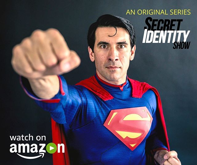 The heart of Season 1, Kal Lee! Streaming now on Amazon Video, free with a prime account. Link in bio! #kallee #superman #beingsupermanllc #superhero #impersonator #dtlv #vegas #webseries #secretidentityshow #tvshow #amazon #amazonprime #comedy