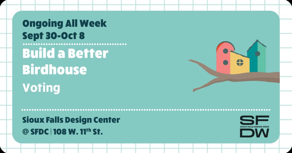 Build a Better Birdhouse Voting