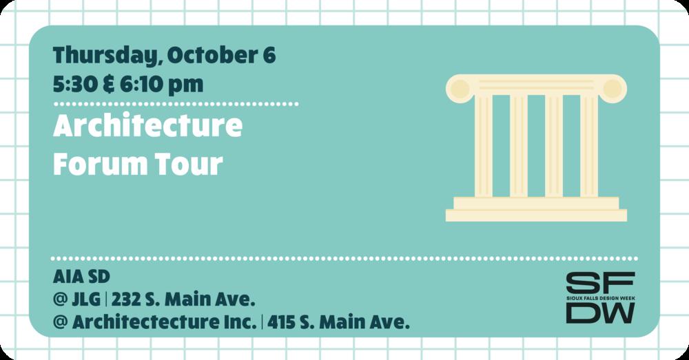 Architecture Forum Tour