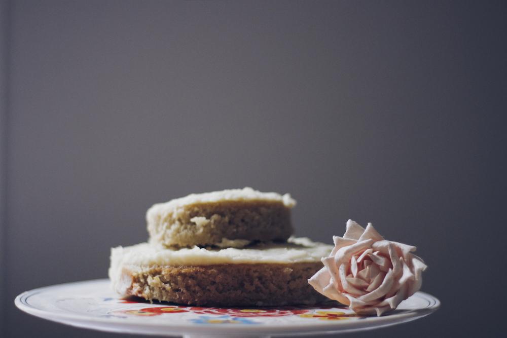 vanilla cake 1