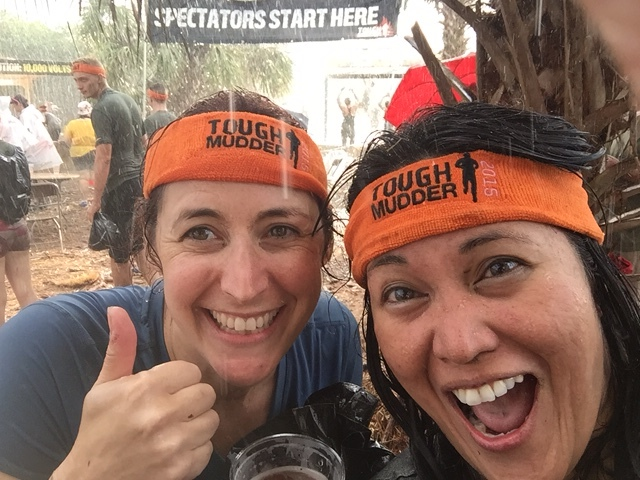 TWO TOUGH MUDDERS
