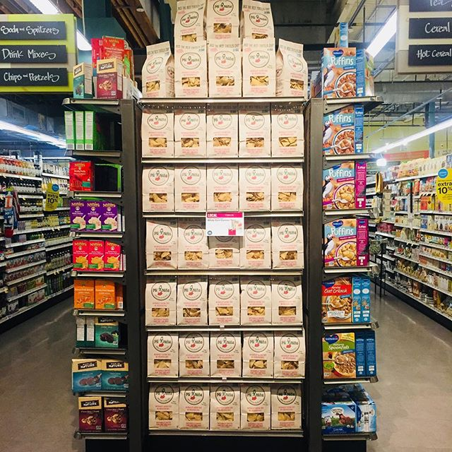 Find us at your local @wholefoods #tuesdaytasting #nongmo #glutenfree #dairyfree