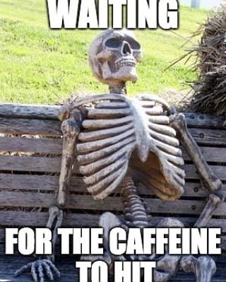 Monday afternoons (that 3pm sweet spot) are the hardest time to stay awake isn't it? . . . . . . .  #mondays #mondaymotivation #Coffee #Coffeetime #Coffeeaddict #Coffeelover #ButFirstCoffee #Coffeelove #Coffeelife#Coffeebreak  #Coffeebean  #Coffeelovers #coffeebreak #CaffeineAddict #Coffeeholic#coffeegram#CoffeeShots #ILoveCoffee #Instacoffee #Javachip #meme #memes #dankmeme #funnymemes #instafunny #fun #funnypics #relatable