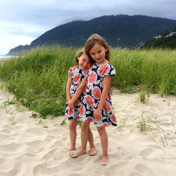 beatles dress at the beach