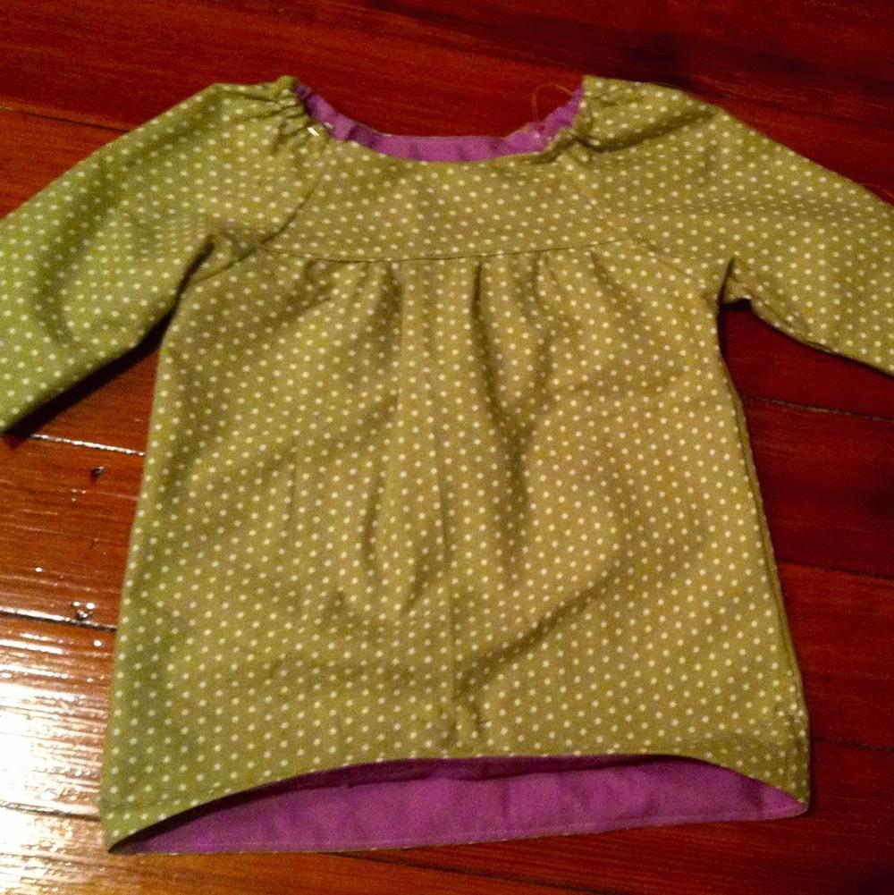 love aunt maggie class picnic tunic
