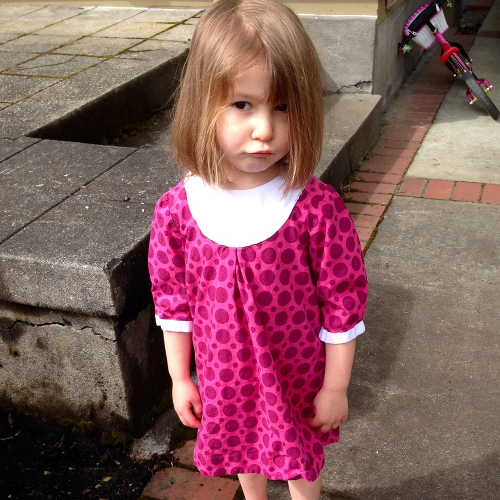 love aunt maggie polka dot playdate dress