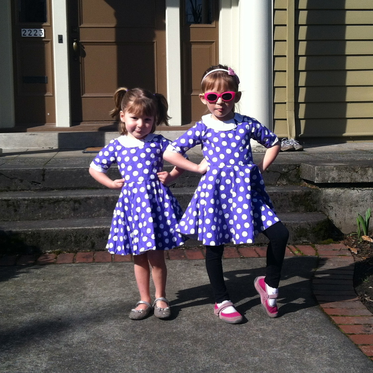 love aunt maggie | twirly dress