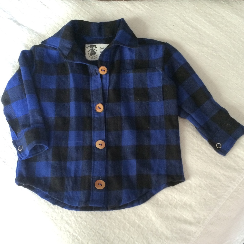 original lil' man flannel