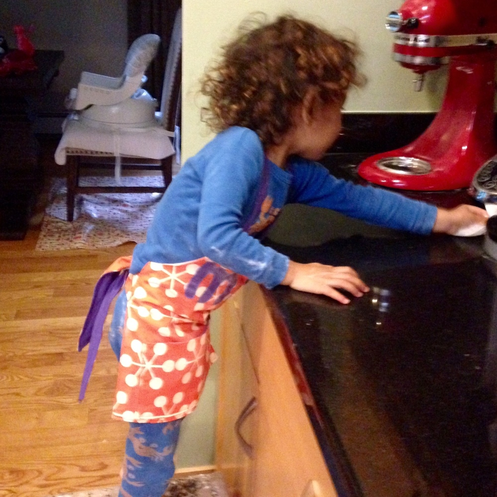 love aunt maggie apron