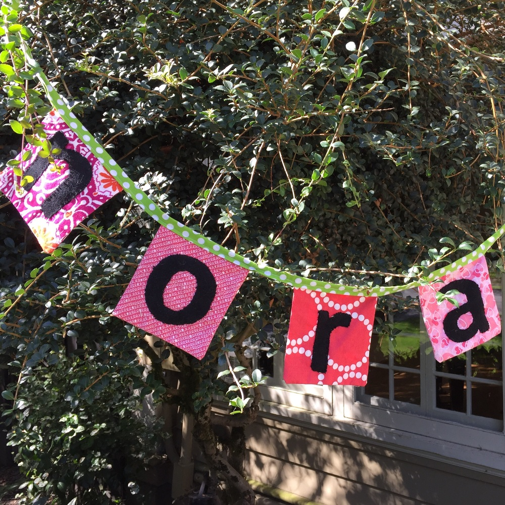 love aunt maggie | birthday bunting