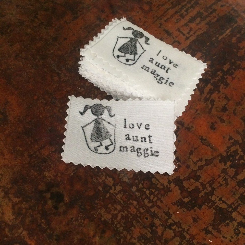 love aunt maggie diy fabric labels
