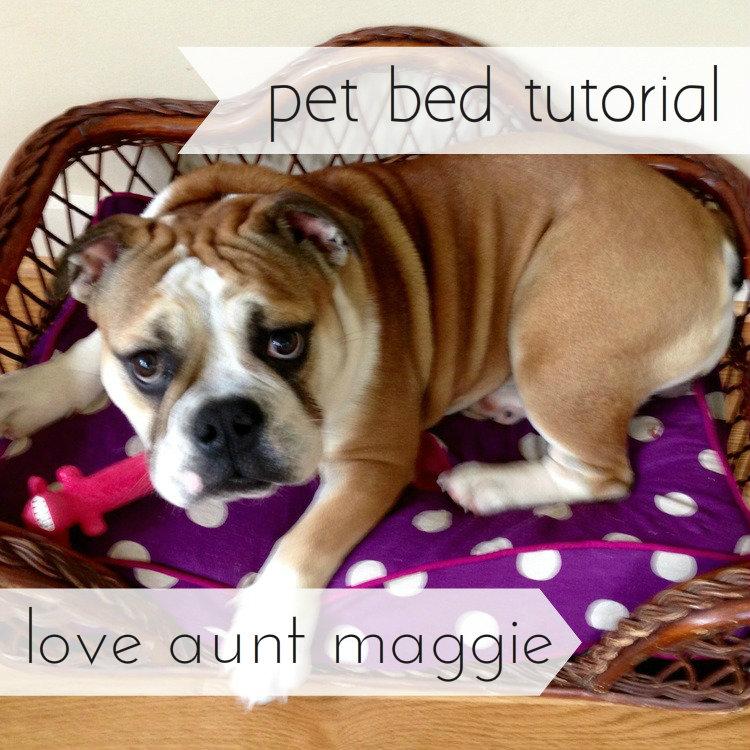 love aunt maggie pet bed