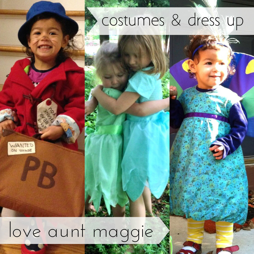 love aunt maggie costumes & dress up