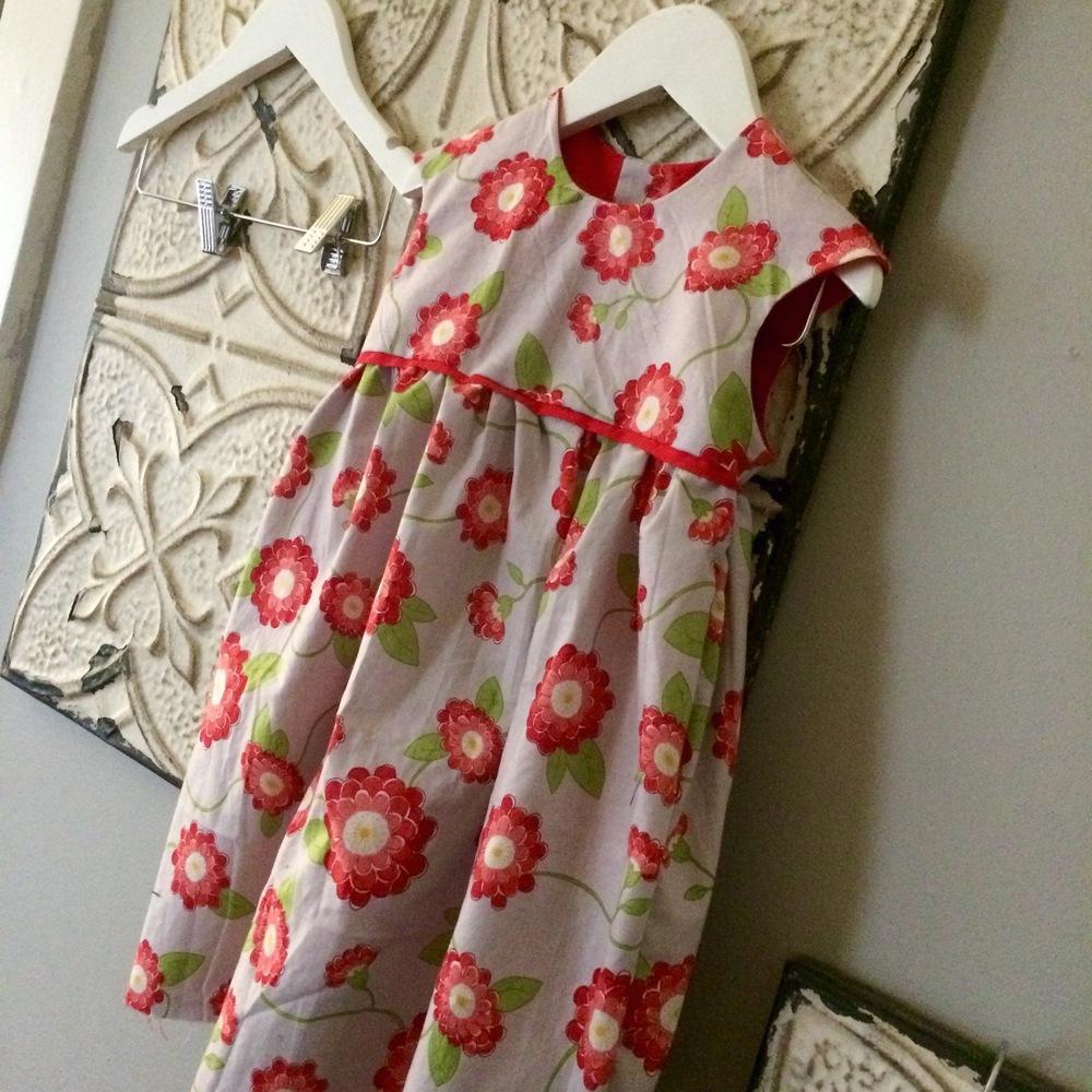 poppy dress close up