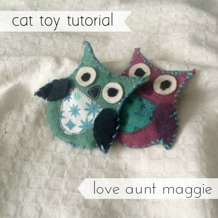 love aunt maggie | cat toy tutorial