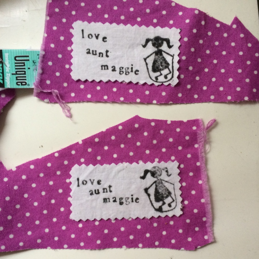 love aunt maggie | polka dot library dress