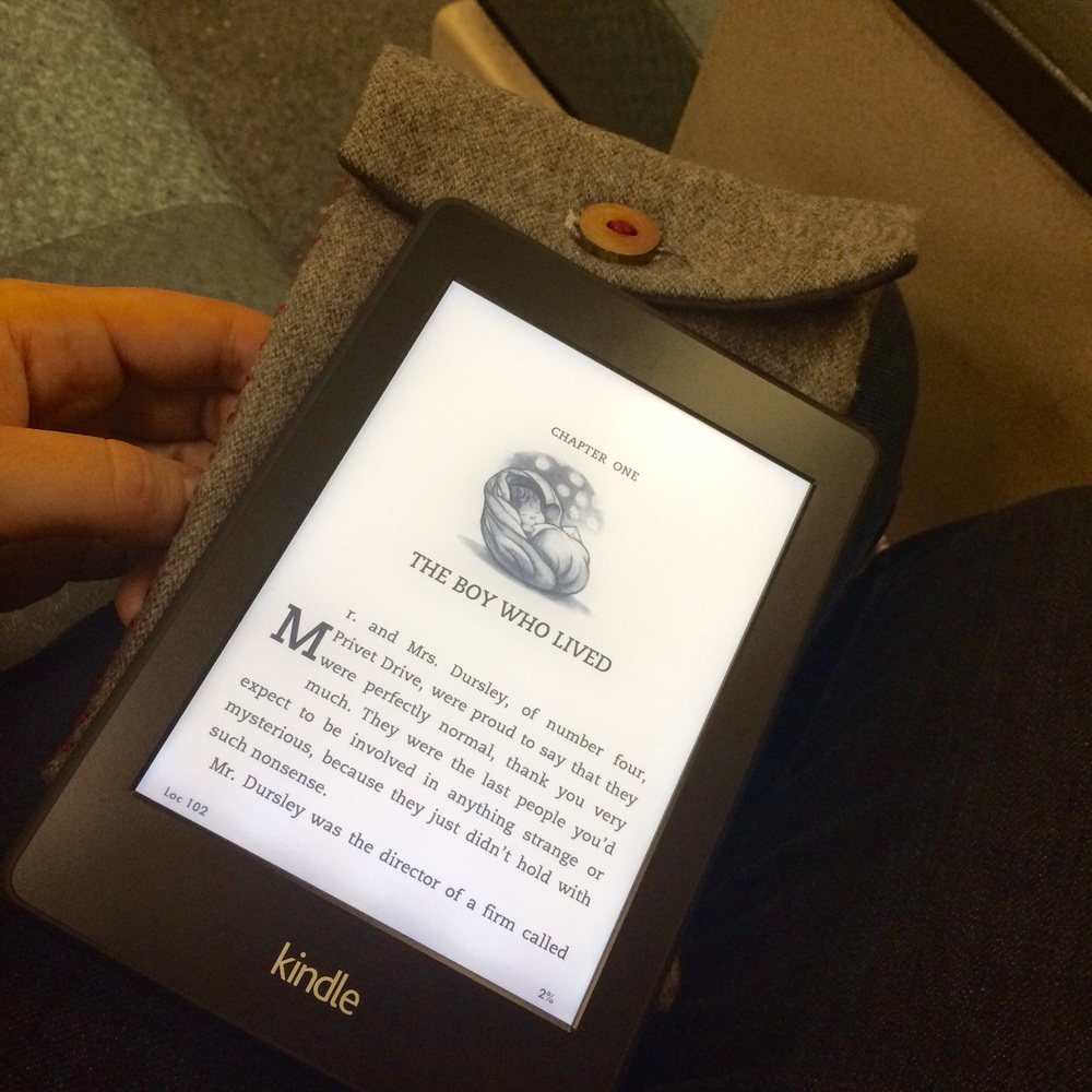 love aunt maggie | kindle case tutorial