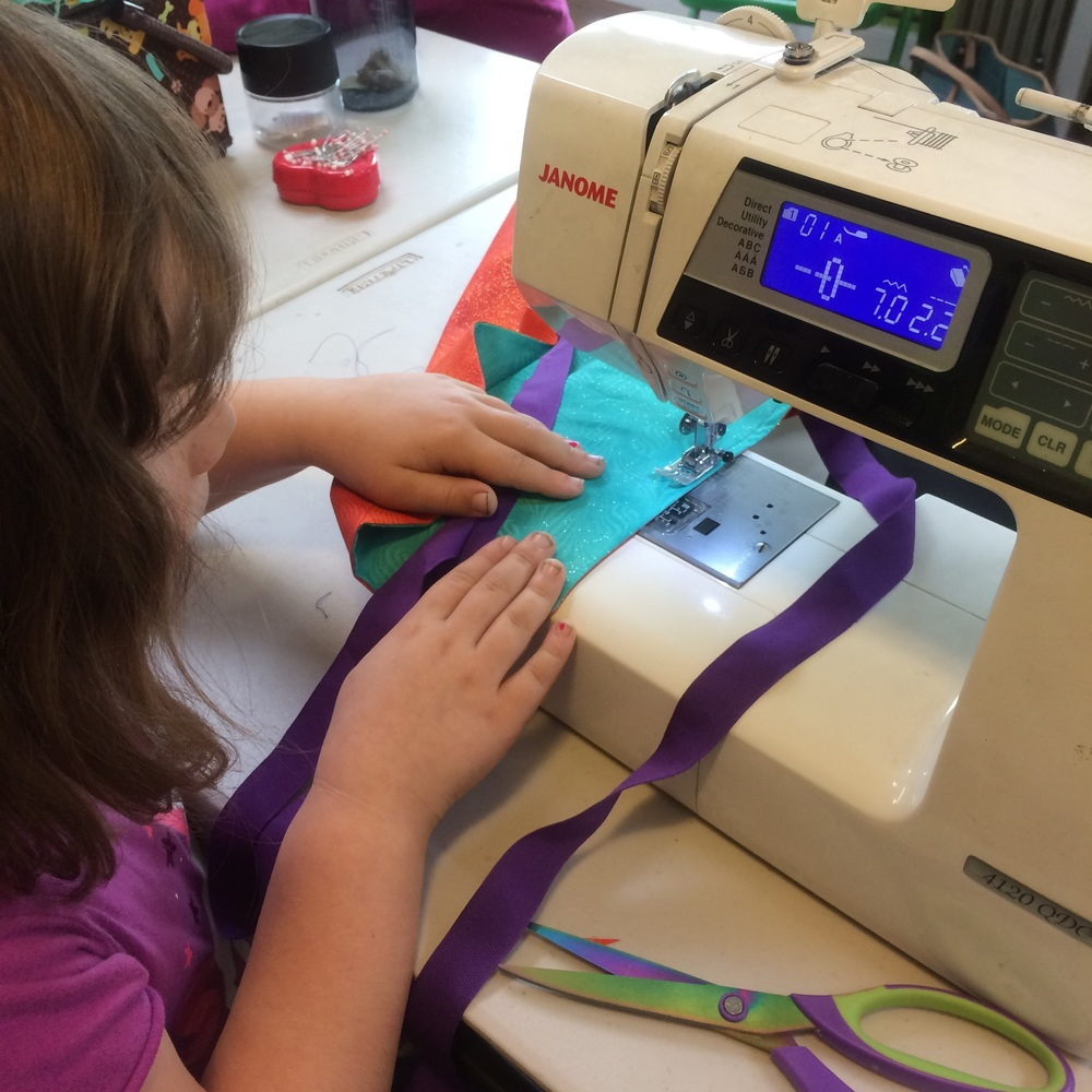 love aunt maggie | 4h sewing