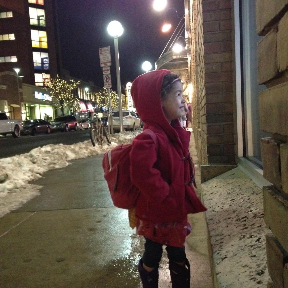 love aunt maggie | ann arbor winter