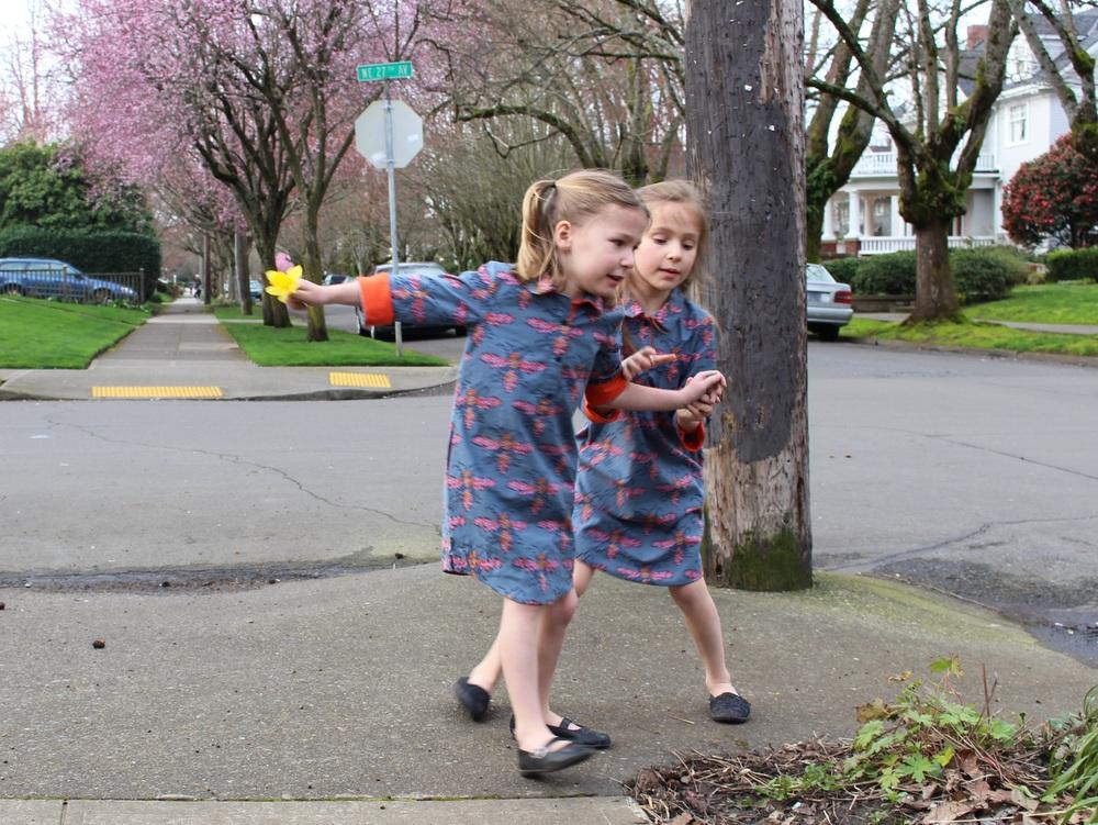 love aunt maggie   a walk around the block