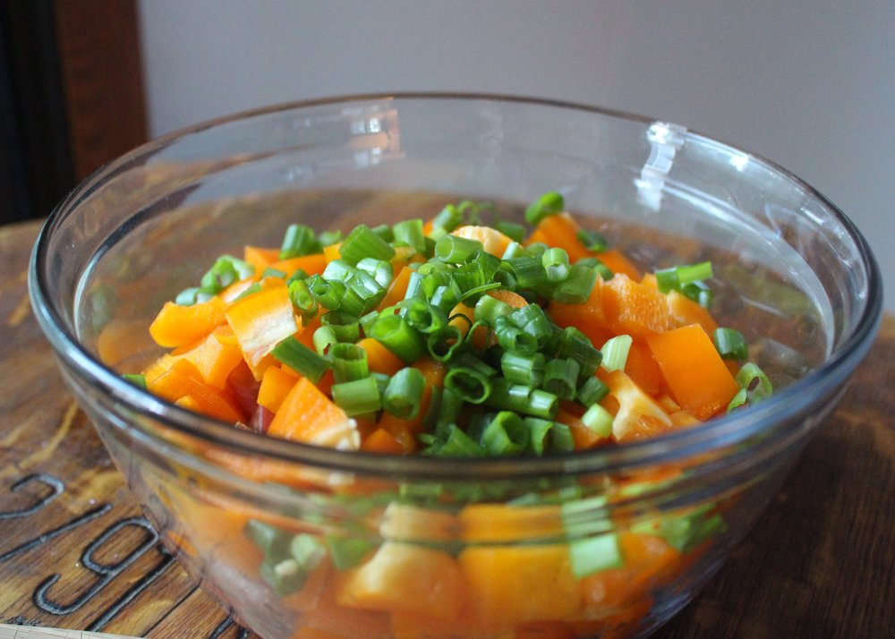 love aunt maggie chilled summer vegetables