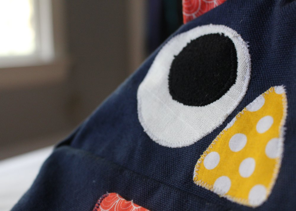 love aunt maggie | owl backpack for lil man