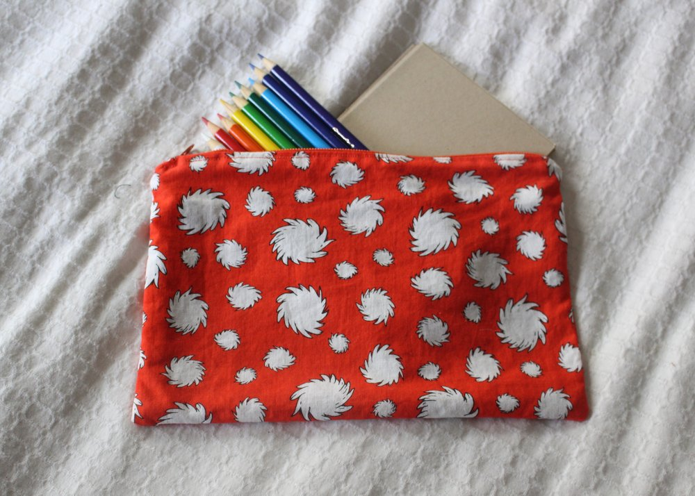 love aunt maggie sewing happiness | zippered pouch