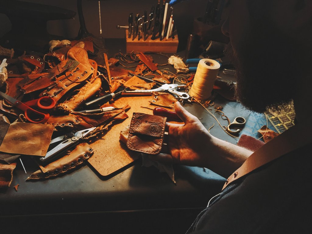 Backwoods Leather Stitchings