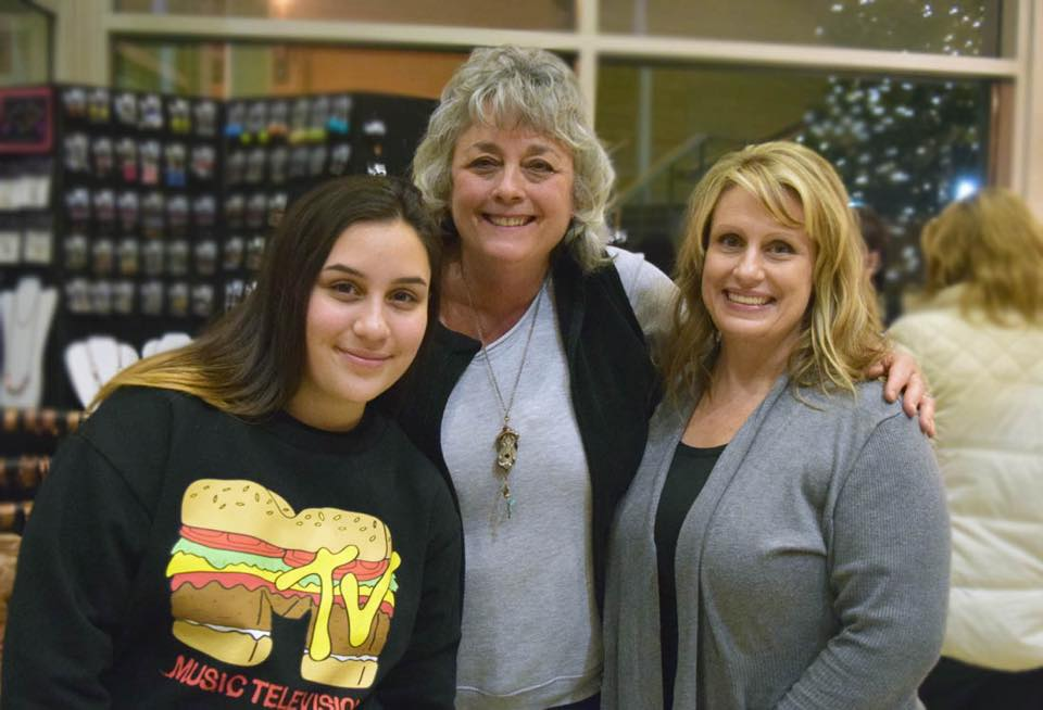 Three generations of women vow to make a holiday tradition out of shopping in downtown Youngstown. Photo by Youngstown Flea.