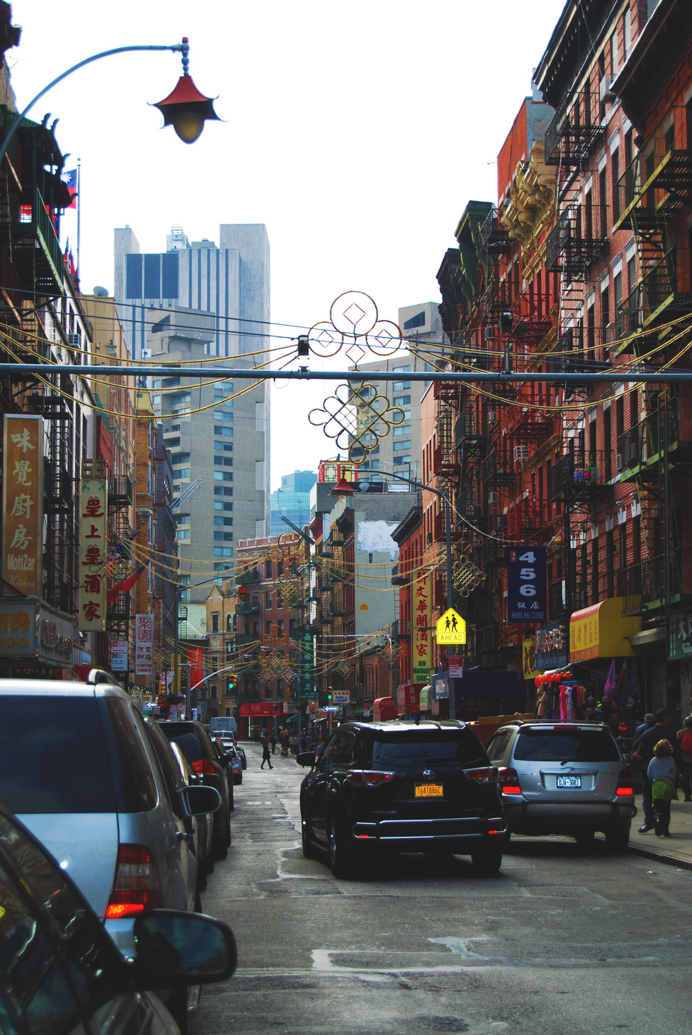 Chinatown is so colorful