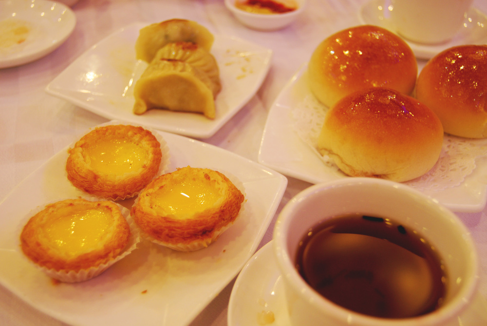 Dim sum is one of my favorite things, primarily because everything is so cute and little, like the Chinese version of high tea.