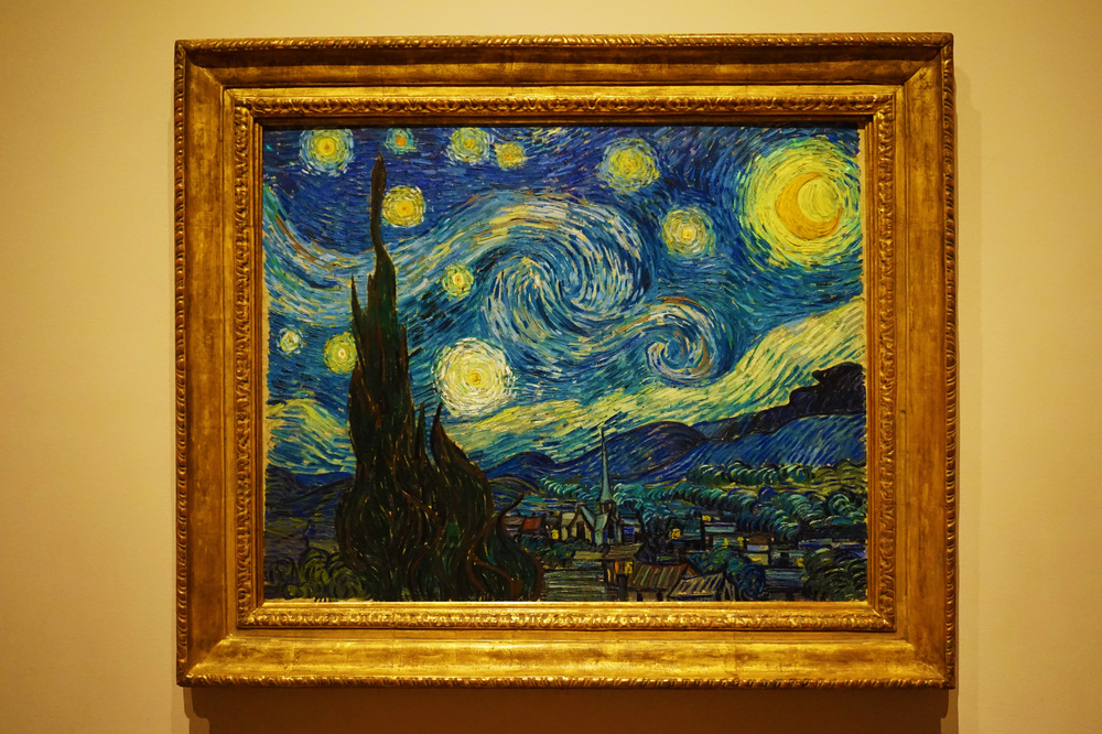 Starry Night  by Vincent Van Gogh c.1882
