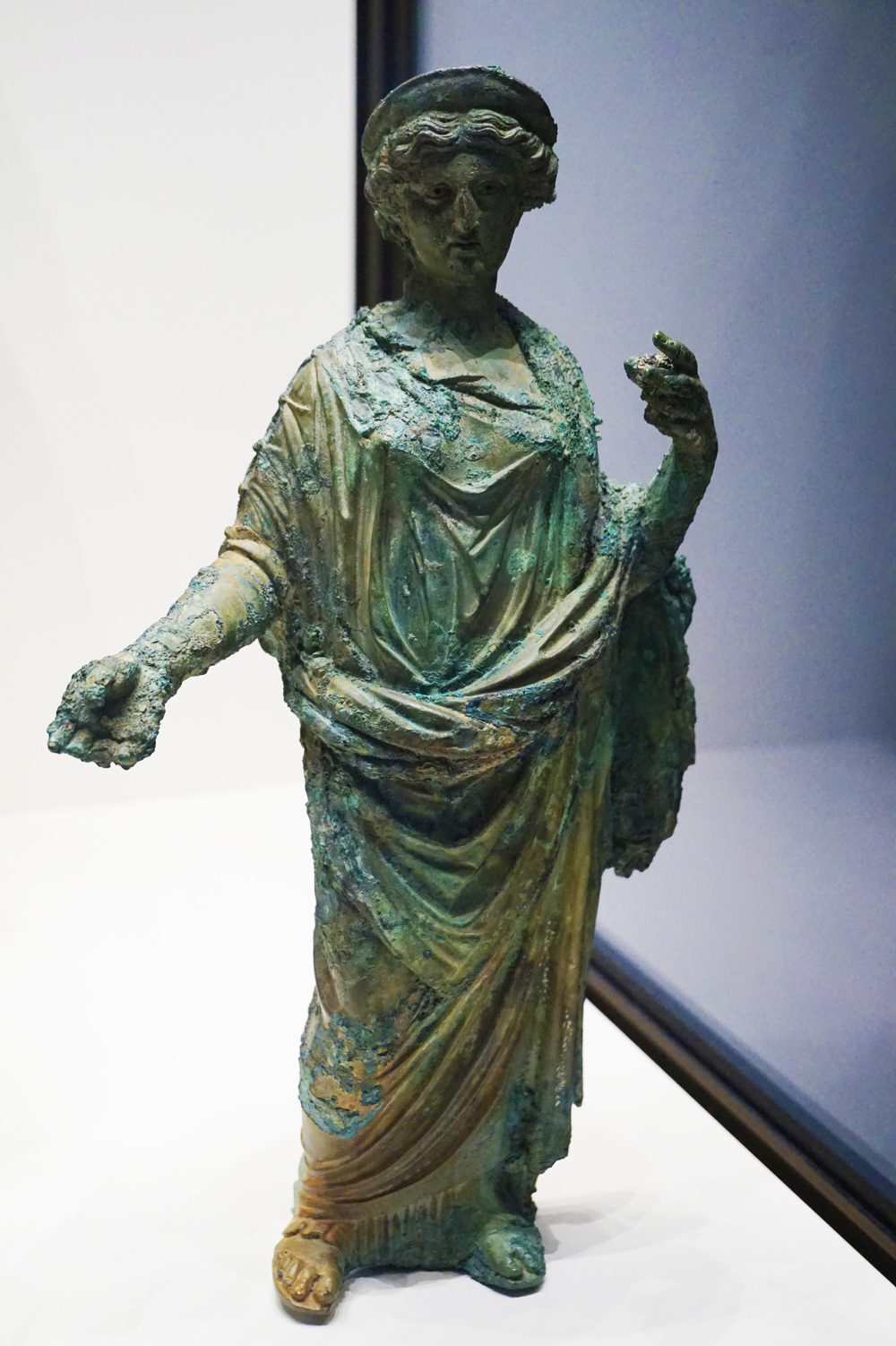 Statuette of a Goddess, Probably Ceres (Demeter), A.D. 50-75