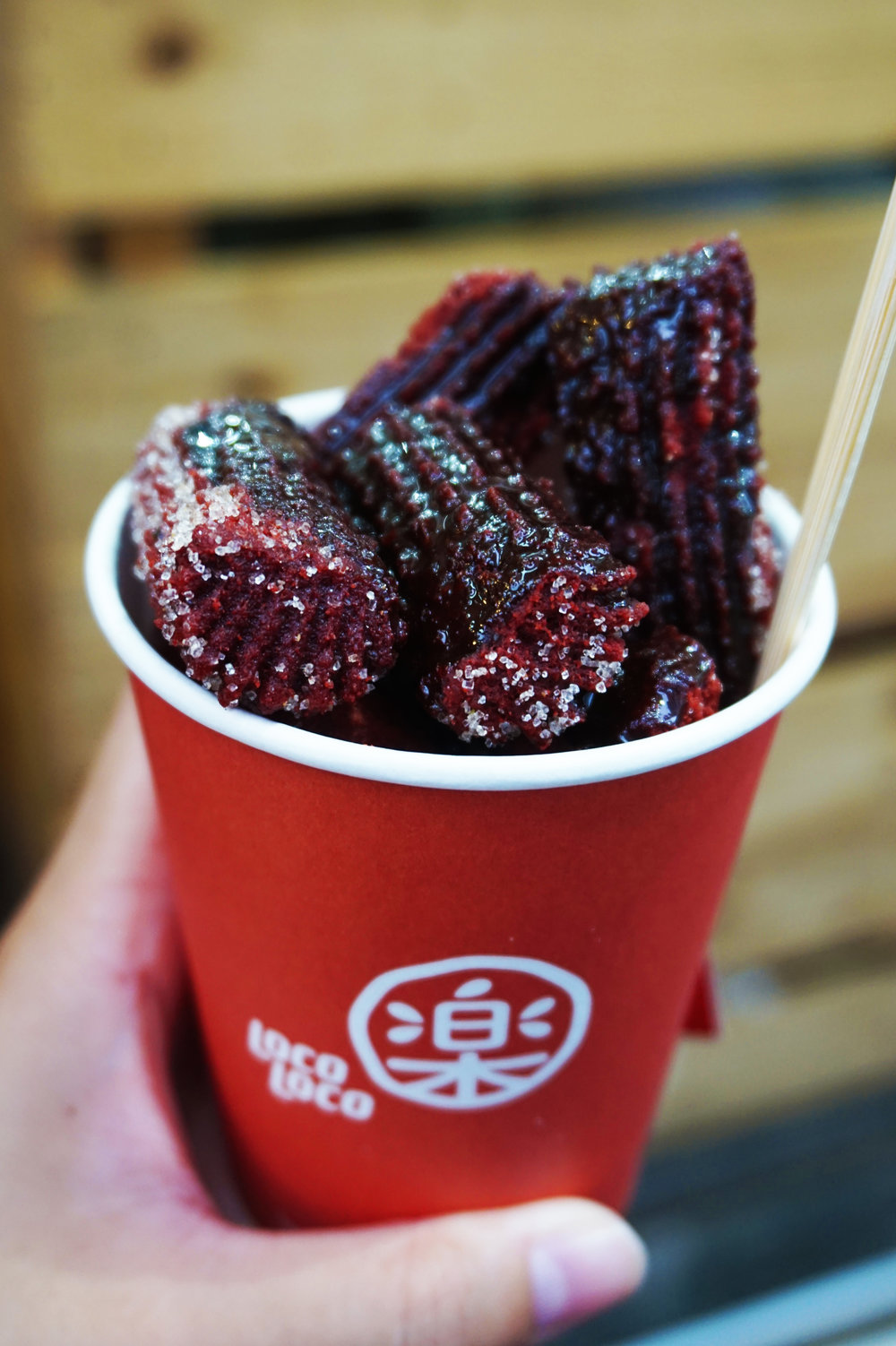Red. Velvet. CHURROS.
