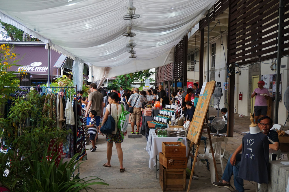 Tanjong Goodman Weekend Market