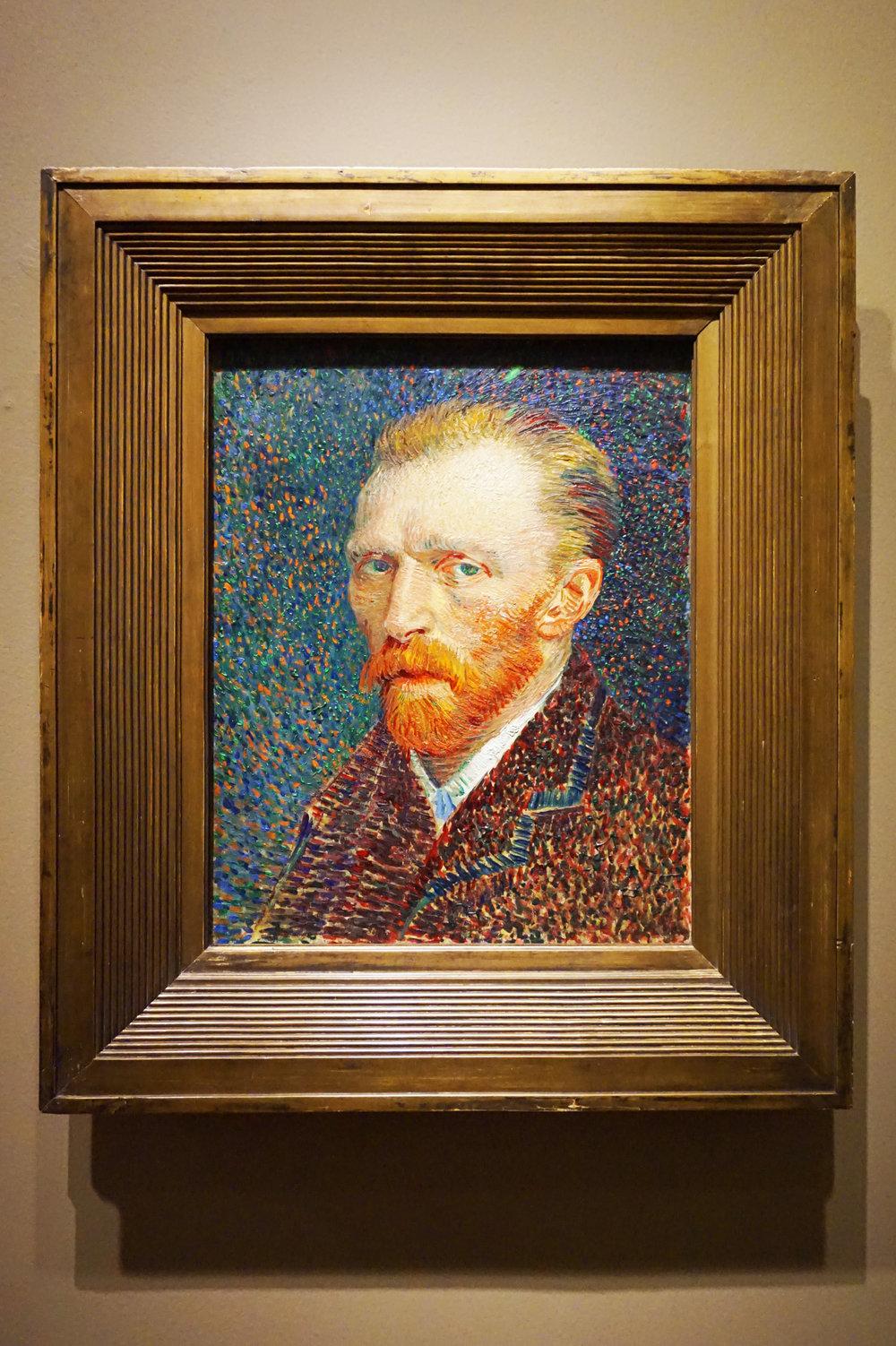 Self-portrait(1889)
