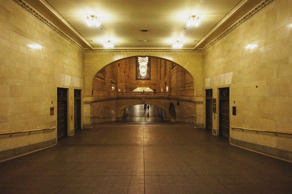 A rare quiet moment in Grand Central