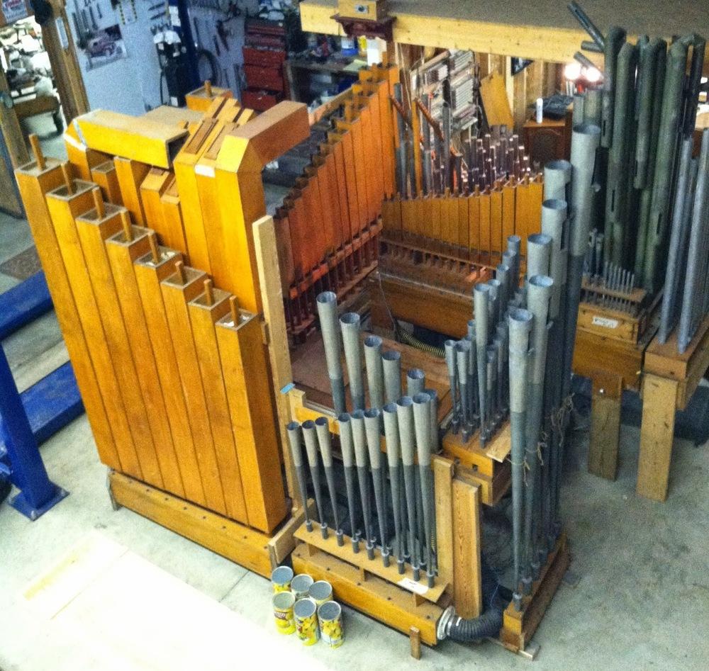 brian ebie pipe organ