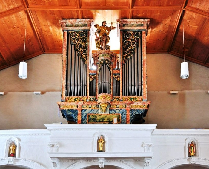 Aebi Organ in Ernen-Schweiz