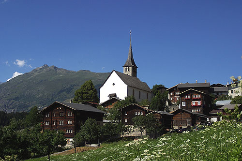 Pfarrkirche, St. George, Ernen