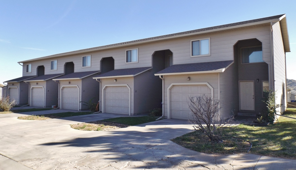 Federal Avenue Townhomes in Rapid City SD - quiet neighborhood