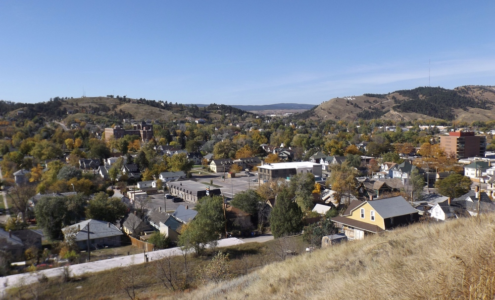 Vintage Apartment Rental in Rapid City, SD - views of M Hill and Dinosaur Park