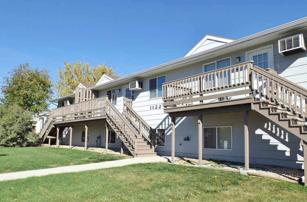 Seventh Street Apartments in Rapid City, SD - new decks