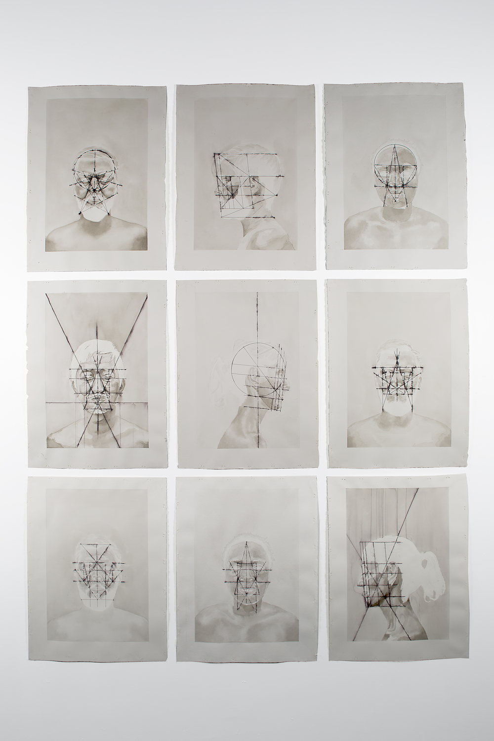 Installation of Perceptual Scans series